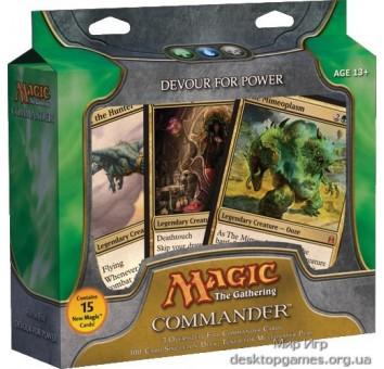 Magic. Commander Deck: Devour For Power (GUW)