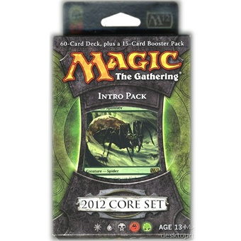 Magic. M2012 Intro Pack: Entangling Webs (RG)