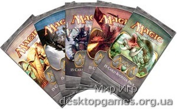 Magic: The Gathering Shards of Alara (Осколки Алары) Бустер