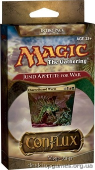 Magic: The Gathering. Conflux. Начальный набор Jund Appetite for War