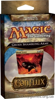 Magic: The Gathering. Conflux. Начальный набор Grixis Shambling Army