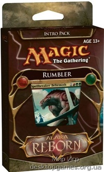 Magic: The Gathering. Alara Reborn Intro Pack Rumbler