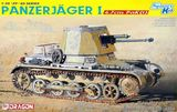 Немецкая противотанковая САУ Панцеръегер I / Panzerjager I