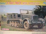 Полугусеничный тягач Sd. Kfz.7 8t Initial Production