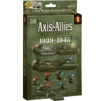 Axis & Allies Minatures: 1939-1945 2 player Starter