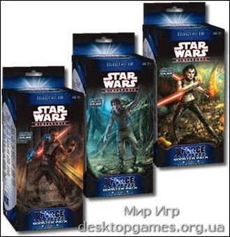 Star Wars Miniatures: The Force Unleashed  (Развязанная сила) Booster