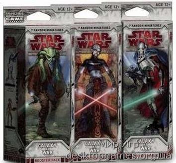 Star Wars Miniatures: Galaxy at War (Галактика в состоянии войны) Booster
