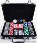 Покерный набор 200 фишек, кейс, С3