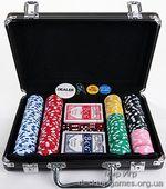 Покерный набор 200 фишек, кейс, St