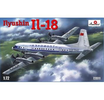 Ильюшин Ил-18 транспортный самолет средней дальности