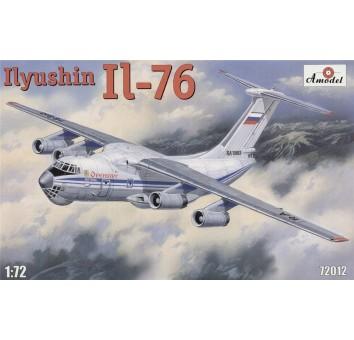 Ил-76 реактивный транспортный самолет средней дальности