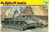 Немецкий танк Pz.Kpfw.IV Ausf.A