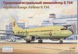 Среднемагистральный авиалайнер Боинг 734