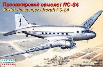 Сборная модель пассажирского самолета ПС-84