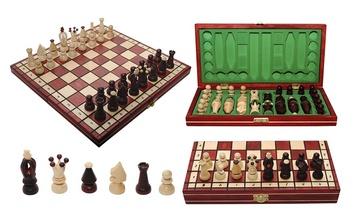 Шахматы Королевские красные