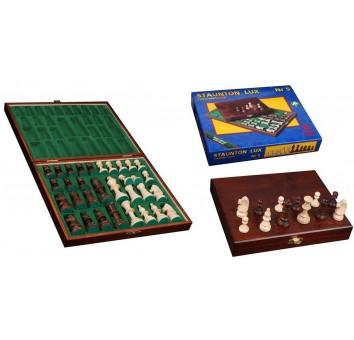 Фигуры шахматные Staunton Lux №5