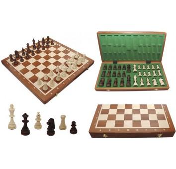 Шахматы Tournament №6 Intarsia махаон