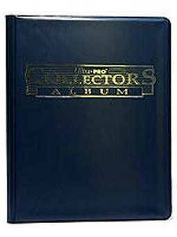 """Альбом """"Ultra-Pro"""" со встроенными листами 3х3, синий"""