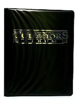 """Альбом """"Ultra-Pro"""" со встроенными листами 3х3, черный"""