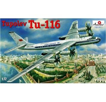 Пассажирский самолет Туполев Ту-116
