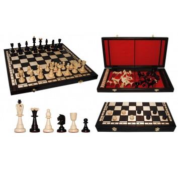 Шахматы + шашки 2 в 1