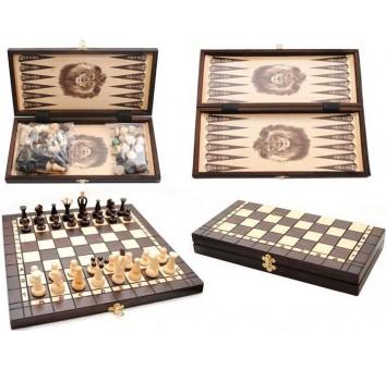 Шашки, шахматы, нарды 3 в 1