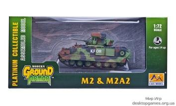 Собранная модель БМП M2A2 «Брэдли»