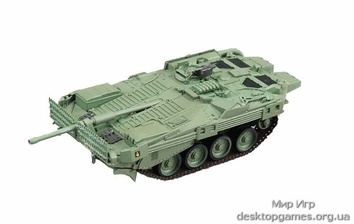 Стендовая модель танка Stridsvagn 103MBT Strv-103B