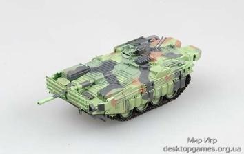 Собранная коллекционная модель танка Strv-103MBT - фото 2