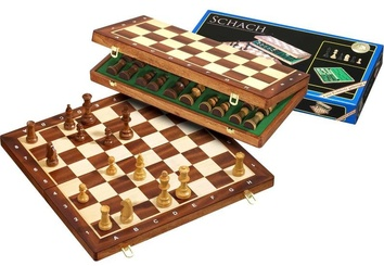 Шахматы  De Luxe Клетка 40 мм, Philos 2610