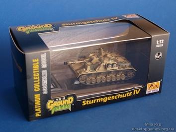 Собранная коллекционная модель САУ StuG IV