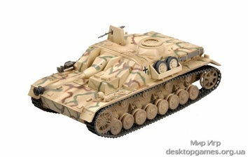 Собранная модель САУ Штурмгешютц IV, лето 1944