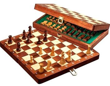 Шахматы дорожные  De Luxe,  магнитные