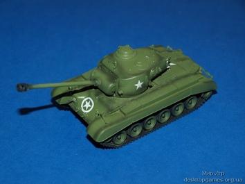 Собранная коллекционная модель танка M26 «Першинг» - фото 2
