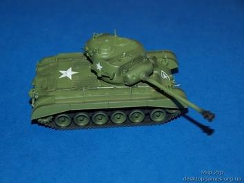 Собранная коллекционная модель танка M26 «Першинг» - фото 3
