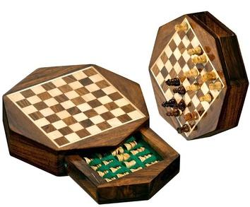 Шахматы дорожные  Octagon мини