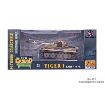Собранная модель тяжёлого танка Тигр 1 (ранний)