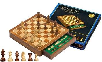 Шахматы  Exclusive,  магнитные клетка Philos 2725