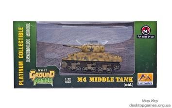 Готовая модель танка M4 «Шерман» (средний)
