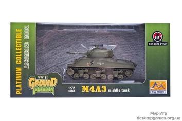 Готовая модель танка M4A3 «Шерман» (средний)