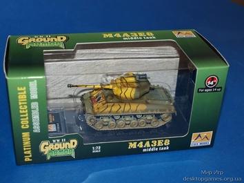 Коллекционная модель танка M4A3E8