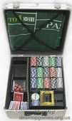 Покерный набор 600 фишек, кейс