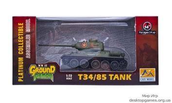 Собранная коллекционная модель танка T-34/85, Вьетнам