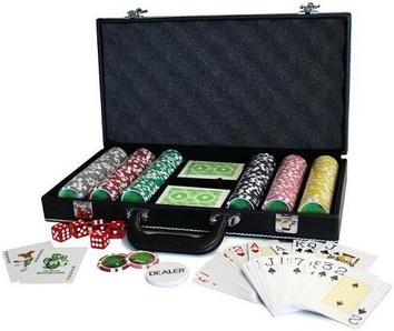 Покерный набор на 300 фишек, кейс кожзам - фото 6