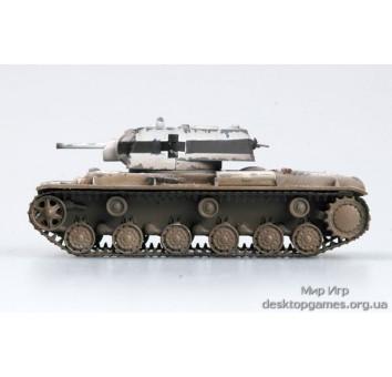 Готовая модель танка КВ-1