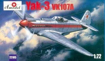 Як-3 с двигателем ВК-107А