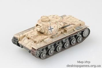 Коллекционная модель танкa КВ-1