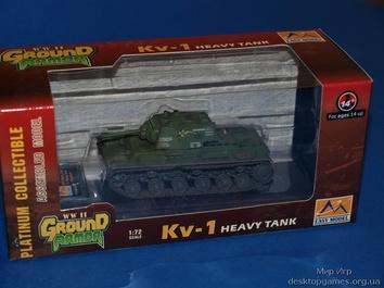 Стендовая модель танка КВ-1