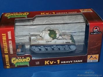 Коллекционная модель танка KV-1 Kalininsky