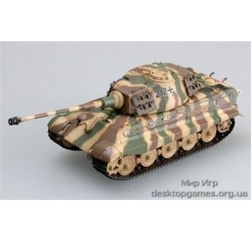 Модель танка Тигр II (с башней Хендшель)